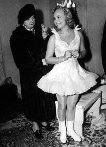 Sonia Henie and Mother, c. 1938.**I.V. - Image 0524_0032