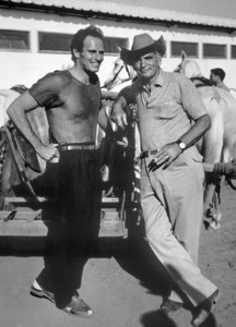 "Charlton Heston and Yakima Canutt""Ben Hur"" 1959 MGM - Image 0527_0007"
