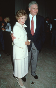 Charlton Heston and wife Lydia at the Golden Apple Awards in Beverly Hills, CA. Dec. 11, 1994 © 1994 Mirek Szepietowski - Image 0527_0408