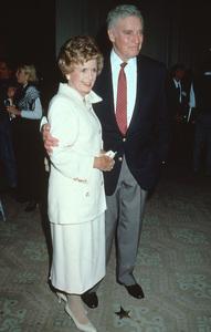 Charlton Heston and wife Lydia at the Golden Apple Awards in Beverly Hills, CA. Dec. 11, 1994 © 1994 Mirek Szepietowski - Image 0527_0408