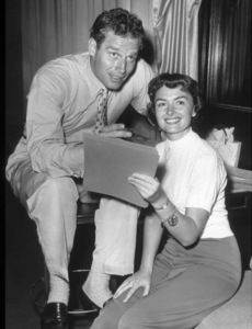 Charlton Heston and Donna Reedc. 1952Photo by Gabi Rona - Image 0527_0452