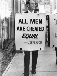 Charlton Heston at Integration Demonstration in Oklahoma City,  May 27, 1961, **I.V. - Image 0527_0464