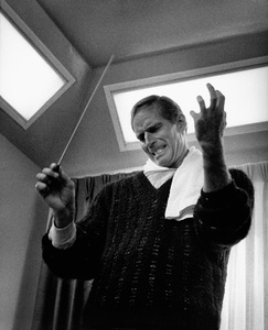 Charlton Heston at home circa 1967 © 1978 David Sutton  - Image 0527_0478