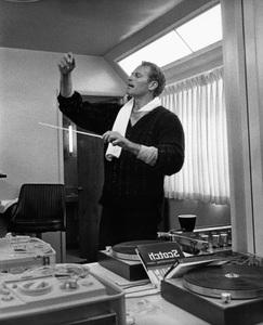 Charlton Heston at home circa 1967 © 1978 David Sutton  - Image 0527_0479