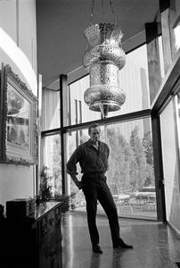Charlton Heston at home circa 1967 © 1978 David Sutton  - Image 0527_0482