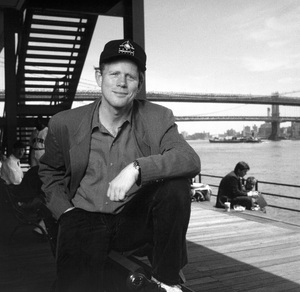 Ron Howard photographed at the South Street Seaport in New York1993© 1993 Ken Shung - Image 0531_0056