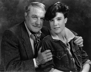 Gene Kelly and his daughter 1982 © 1982 Tom Kelley - Image 0538_1032
