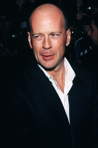 "Bruce Willis at his ""Story Of Us"" moviepremiere.  1999. © 1999 Ariel Ramerez - Image 05388_0004"