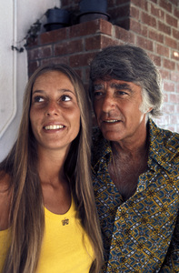Peter Lawford and Mary Rowancirca 1972 © 1978 Gunther - Image 0543_0049