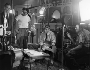 """Peter Lawford on """"The Thin Man"""" set1957© 1978 Gerald Smith - Image 0543_0051"""