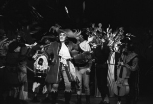 """Cyril Ritchard during a production of """"Peter Pan""""1954© 1978 Bob Willoughby - Image 0549_0095"""