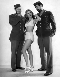 """""""Story of G.I. Joe""""Pvt. Fred Ross, Shelley Mitchell, Cpl. Chester Nowlen1945 United Artists© 1978 Ned Scott Archive - Image 0553_2021"""