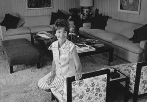 Nancy Reaganat her home in California1966 © 1978 Gene Trindl - Image 0554_0038