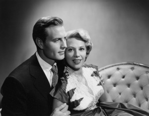 George Montgomery and Dinah Shore1952© 1978 Wallace Seawell - Image 0557_0013