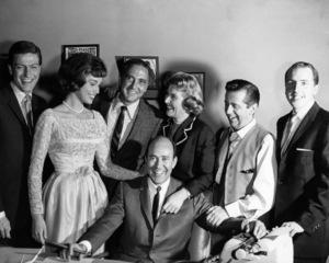 """The Dick Van Dyke Show"" Dick Van Dyke, Mary Tyler Moore, Sheldon Leonard, Carl Reiner, Rose Marie, Morey Amsterdamcirca 1960s** I.V. - Image 0565_0021"