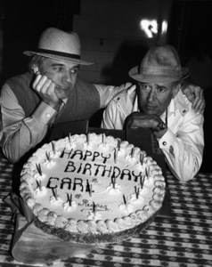 "Steve Martin and director Carl Reiner during the making of ""The Jerk""1979 ** I.V. - Image 0565_0026"