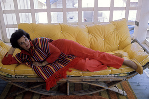 Jane Russell at homecirca 1960s © 1978 Gunther  - Image 0569_0447