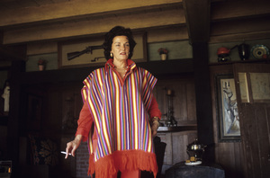 Jane Russell at home circa 1960s © 1978 Gunther  - Image 0569_0451