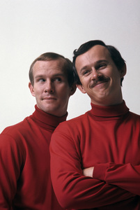 """""""The Smothers Brothers""""Dick Smothers, Tom Smothers1969 © 1978 Gene Trindl - Image 0572_0114"""