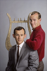"""""""The Smothers Brothers""""Tom Smothers, Dick Smothers1965 © 1978 Gene Trindl - Image 0572_0117"""