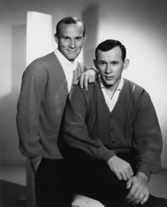 """""""The Smothers Brothers Show""""Tom Smothers, Dick Smotherscirca 1965Photo by Gabi Rona - Image 0572_0135"""