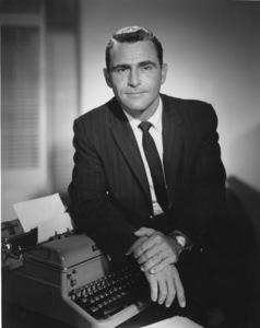"Rod Serlingcreator and host of ""The Twilight Zone""1959Photo by Gabi Rona - Image 0573_0006"