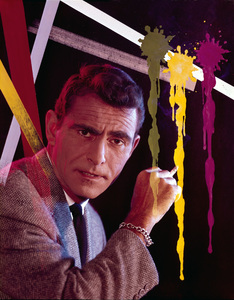 "Rod Serling""Twilight Zone""1963 CBSPhoto by Gabi Rona - Image 0573_0032"