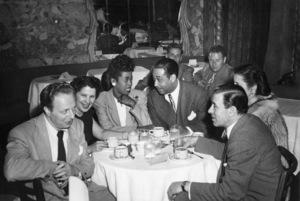 Sarah Vaughan and Duke Ellingtoncirca 1940s** I.V.M. - Image 0578_0012