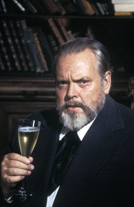 Orson Welles for a Paul Masson advertisement1978 © 1978 Tom Kelley - Image 0580_0264