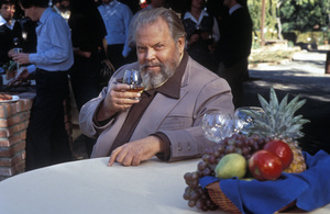 Orson Welles for a Paul Masson advertisement1978 © 1978 Tom Kelley - Image 0580_0265