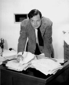 Orson Welles at Mercury Theater,CBS, September 26, 1945 / **I.V. - Image 0580_0282