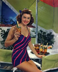 Esther Williams for a Lipton Tea advertisement1950© 1978 Paul Hesse - Image 0581_0803