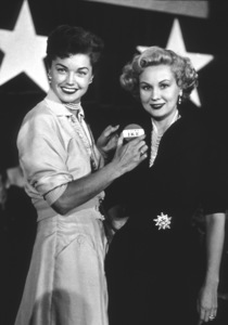 Esther Williams and Virginia Mayo1953 Republican RallyPhoto by Jason Hailey - Image 0581_0804