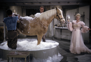 """""""Mister Ed"""" (Episode: Mae West Meets Mister Ed)Mae West1964 © 1978 Gene Trindl - Image 0582_0204"""