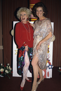 Phyllis Diller and daughter Stephaniecirca 1980s© 1980 Gary Lewis - Image 0599_0179
