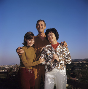 Sally Field with her mother, Margaret (Maggie), and her stepfather, Jock Mahoney1966© 1978 David Sutton - Image 0603_0018