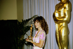 Sally Field with her Oscar at the Academy Awards1980© 1980 Jean Cummings - Image 0603_0107
