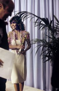 Sally Field with her Oscar at the Academy Awards1980© 1980 Jean Cummings - Image 0603_0108