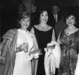 Rhonda Fleming with Ann Miller and Kathryn Grayson1965 Photo by Joe Shere - Image 0606_0339