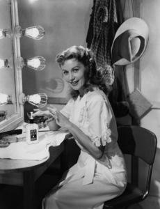 Rhonda Fleming in a Jergens lotion advertisementcirca 1950s© 1978 Paul Hesse - Image 0606_0343