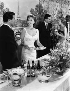 Rhonda Fleming in a Rheingold beer advertisementcirca 1950s© 1978 Paul Hesse - Image 0606_0344