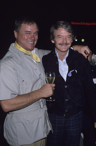 Larry Hagman and Hal Holbrookcirca 1970s© 1978 Gary Lewis - Image 0615_0047