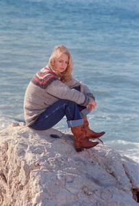 Goldie HawnCirca 1976photo By Gabi Rona - Image 0616_0001