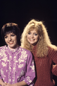 Goldie Hawn and Liza Minnellicirca 1976Photo by Gabi Rona - Image 0616_0015