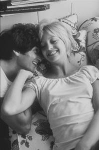 Goldie Hawn and her husband, Gus Trikonis, at home, 1969. © 1978 GuntherMPTV - Image 0616_0040