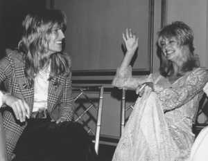 Goldie Hawn and Julie Christie at a Partyfor Presidential Candidate George McGovern, 1972 © 1978 Kim Maydole Lynch - Image 0616_0115