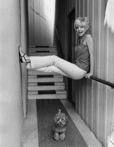 Goldie Hawn at home 1968 © 1978 Gene Trindl - Image 0616_0120