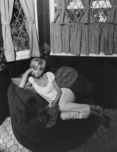 Goldie Hawn at homeJuly 8, 1968 © 1978 Gene Trindl - Image 0616_0122