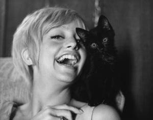 Goldie HawnAt Home 1968 © 1978 Gene Trindl - Image 0616_0142