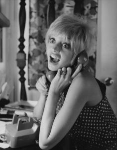 Goldie HawnAt Home 1968 © 1978 Gene Trindl - Image 0616_0144